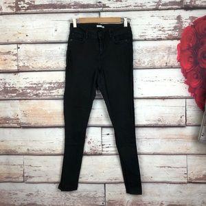 🌵Zara trafaluc skinny black basic jeans
